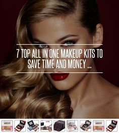 7 Top All in One Makeup Kits to save Time and #Money ... → Makeup #Makeup