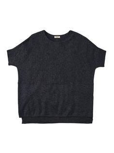 Blusão feminino hering de tricô com manga curta na Hering