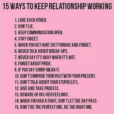 relationship rules for couples