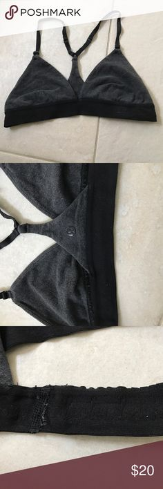 Lululemon reposh bra sz 6 I believe Sold old lulu bra, too small for me, I believe this would for a B cup best, band is slightly pulled.  Price reflects pulled band lululemon athletica Intimates & Sleepwear Bras
