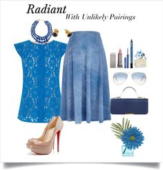 Unlikely Pairings: Acid Wash and Lace