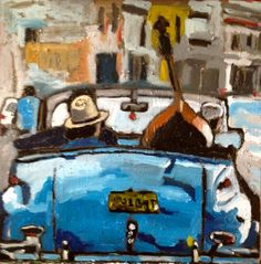 By Georgia Lobo - 50 X 50 - Cuba - óleo sobre tela