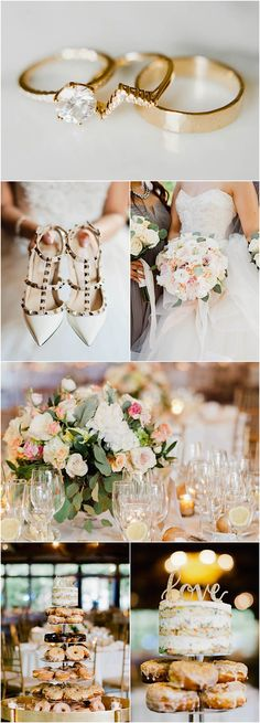 Featured Photographer: Merari Photography; chic wedding details
