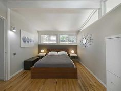 Bedroom design at Beautiful Ranch Style Home Modern Renovations at Harvey Park