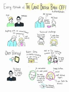 Every episode of the Great British Bake Off