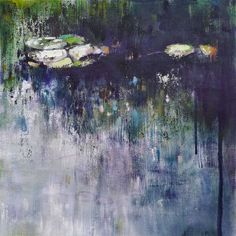 Joanne Reen: Water Garden Study, Giverny: fine art | StateoftheART Canvas Fabric, Oil On Canvas, South African Artists, Affordable Art, Water Garden, Online Art, Original Artwork, Study, Gallery