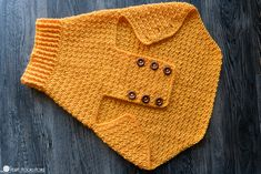 Easy Crochet Dog Sweater for Large, X Large, and XX Large Dogs This easy crochet sweater for large dogs is stylish and warm! Learn how to crochet a dog sweater for big dogs using this free crochet pattern. Crochet Dog Sweater Free Pattern, Crochet Dog Patterns, Knit Dog Sweater, Sweater Knitting Patterns, Sweater Embroidery, Big Sweater, Easy Crochet, Free Crochet, Dog Crochet
