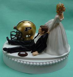 Wedding Cake Topper Purdue University Boilermakers PU by WedSet, $59.99