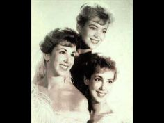 Loved these oldies when I was a teenager - go figure!  I LOVE HOW YOU LOVE ME ~ The Paris Sisters  1961