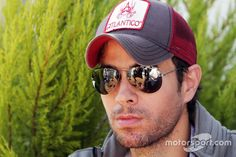 Enrique Iglesias, Singer, guest of the Sahara Force India F1 Team