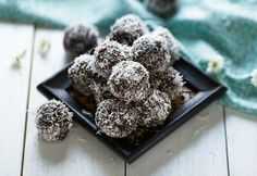Nut Free Coconut & Chocolate Bliss Balls
