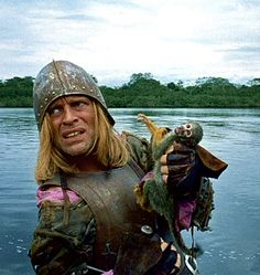 Aguirre, The Wrath of God (Herzog) was shot along the Amazon in Peru. It probes one of the filmmaker's themes: an unsentimental look at humankind's relationship to landscape and nature.