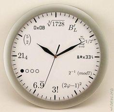 Wall Clock in my future Study Room. :)
