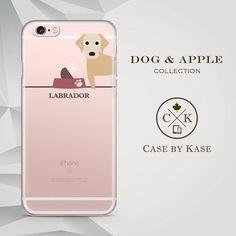 Perro Labrador - claro iPhone 6 iPhone de iPhone 6s caso, caso, 6 caso Plus, iPhone 6s más caso (DA0014)