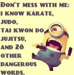 Same but I do know real karate