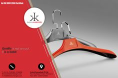 KKPL is a India's No. 1 Plastic Hangers Manufacturer & Supplier.  KKPL is committed to manufacture finest designer hangers with highest quality standards to enrich lifestyles. With a belief of providing nothing but the best, our pool of talents persistently works on finding innovative ways to enhance the designs and concepts of our designer hangers with absolute perfection. Walking steadily towards excellence, we stand on the strong pillars of Integrity, Passion for Fineness and…