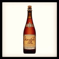 Chocolate Ale from Boulevard Brewing Co. Can't wait!