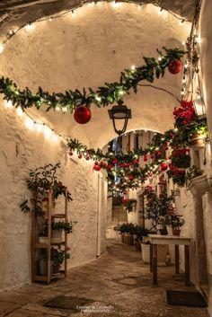 Locorotondo, Italy, Christmas time