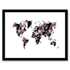 Floral World Wall Art
