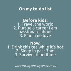 Funny and shareable parenting memes from Whinge Whinge Wine