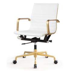 Meelano Executive Managerial Chair | Wayfair $200