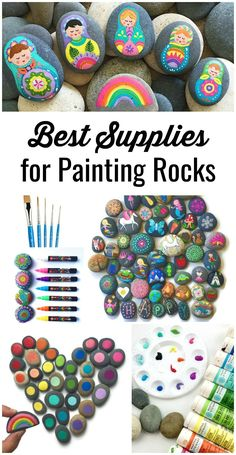 Painting rocks is easier than it looks and it's also quite addicting once you get started. It can be difficult to figure out the best supplies and techniques so I thought I'd create a guide based on my experience. For years I soldmy painted stones on Etsy, but now I prefer to share what I've learned so that others can enjoy painting rocks as much as I do.