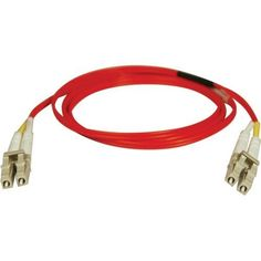 Tripp Lite Duplex Multimode 62.5/125 Fiber Patch Cable . (Lc/Lc) . Red, 1M (3. Ft.) Product Type: Hardware Connectivity/Connector Cables