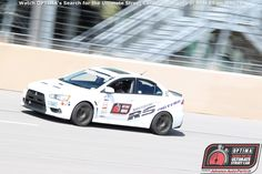 Dustin Rogers will compete in the 2015 #OUSCI in his 2012 Mitsubishi Evo
