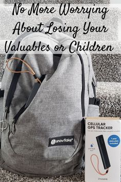 No More Worrying About Losing Your Valuables or Children Thanks to the Invoxia Cellular GPS Tracker (& Giveaway Ends 4/12)