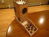 Step by Step instructions for building a dice tower from foam core | Miscellaneous Game Accessory | BoardGameGeek
