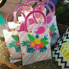 Pink Flamingo Party, Flamingo Birthday, Pink Flamingos, Pool Party Favors, Luau Party, First Birthday Decorations, Luau Birthday, Tropical Party, Party Items