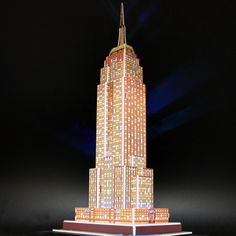 Empire State w/color changing LED lights! $24.99 @ www.GreenMoby.com