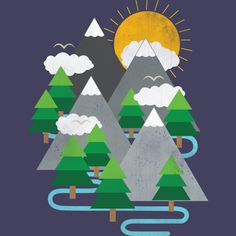 Mountain Pass is a Tank Top designed by PolySciGuy to illustrate your life and is available at Design By Humans