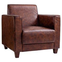 Huntsville Leather Armchair