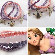 'Rapunzel' bracelet for your little girl! As pretty as princess Rapunzel! #kitzforkids
