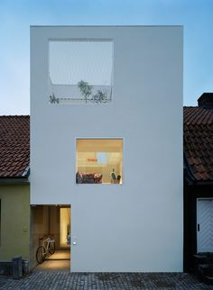 Swedish Townhouse Outdoor by Elding Oscaron | Featured on sharedesign.com.
