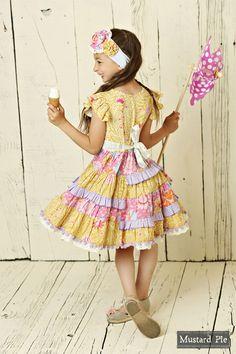 Mustard Pie Summer Magnolia McKenna Dress PREORDER