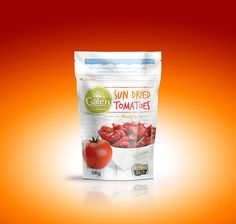 GALEN SUN DRIED TOMATOES PACKAGE DESIGN on Behance