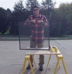 Custom make your own window screens -- fast & easy!