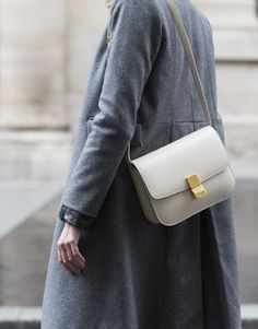 Fashion Gone rouge Celine Classic Box, Celine Box, St Style, Looks Style, Grey Style, Style Casual, Casual Chic, Fashion Bags, Fashion Outfits