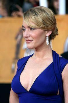 Kate Winslet Blue Dress Sag Awards 2009 4