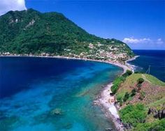 Dominica: The Nature Island of the Caribbean. Went there on our honeymoon.