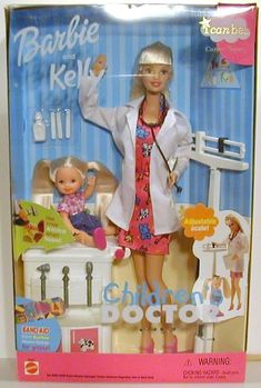 Barbie® I Can Be... Children's Doctor Doll and Kelly® Doll