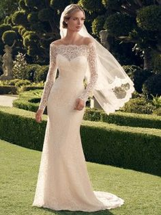 Cheap vestidos de novia, Buy Quality sleeved wedding directly from China long sleeve wedding Suppliers: High Quality Vintage Lace Long Sleeve Wedding Dress 2015 Sheer Back Boat Neck Bridal Gown Sheath Vestido De Novia Wedding Dresses 2014, Wedding Dress Styles, Wedding Attire, Bridal Dresses, Wedding Gowns, Bridesmaid Dresses, Party Dresses, Ivory Wedding, Lace Dresses