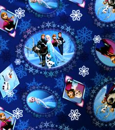 Disney Frozen Fabric | Frozen Fabric at @Jo-Ann Fabric and Craft Stores
