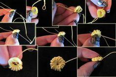 Patrones Crochet: Aprendiendo hacer Botones de Crochet