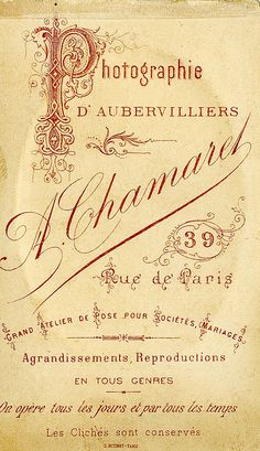 Antique French Perfume Label  http://abitofparis2u.blogspot.com/