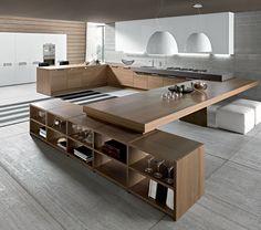 Grote 'leef' keuken