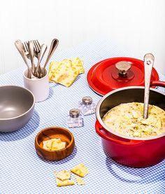 Chaudrée de palourdes   Recettes d'ici Clams, Chowder, Fondue, Cheese, Ethnic Recipes, Cooking, Cream Soups, Cooking Recipes, Cooking Food
