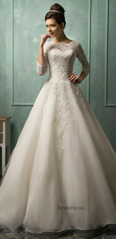 amelia-sposa-2014-wedding-dresses-full-21 - Belle The Magazine
